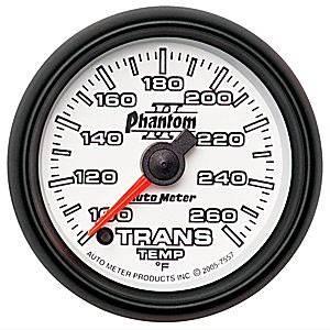 Auto Meter Gauges - Auto Meter Phantom II Transmission Temp Gauge