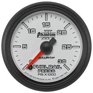 Auto Meter Gauges - Auto Meter Phantom II Diesel Fuel Rail Pressure