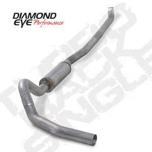 "Diamond Eye - 4"" Aluminized DP Back Exhaust - 01-07 LB7 LLY LBZ Duramax"