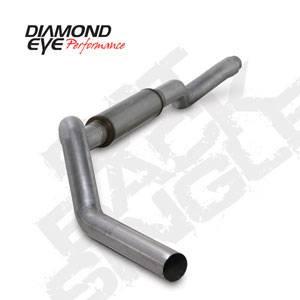 "Diamond Eye - 5"" Aluminized Cat Back Exhaust Duramax LBZ"