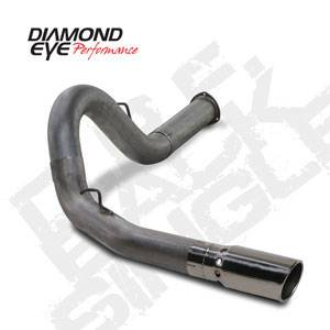 "Diamond Eye - 5"" Stainless DPF Back Exhaust Duramax LMM"