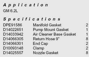 Interstate-McBee - 6.2L Pump & Injector Installation Kit