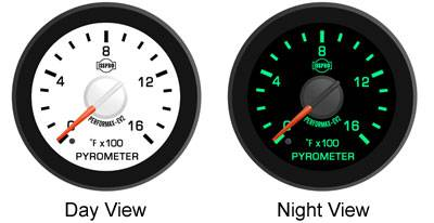 Isspro Gauges - Isspro EV2 Transmission Temp Gauge