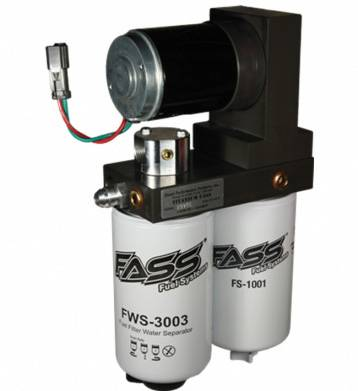 FASS Fuel Air Separation Systems - FASS Titanium 150gph 01-10 Duramax