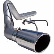 "MBRP Exhaust - MBRP - 4"" Aluminized DPF Back Exhaust - 07-09 Dodge 6.7L"