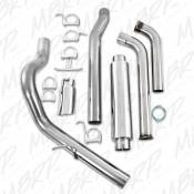 "MBRP Exhaust - MBRP - 4"" Stainless Turbo Back Exhaust - 03-07 Ford 6.0L - Image 3"