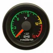 Isspro - 08-10 Ford 6.4L - Isspro EV Series - 08-10 Ford 6.4L - Isspro Gauges - Isspro Enhanced Visibility Pyrometer w/ Thermocouple and Leadwire