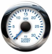 Isspro - 98.5-02 Dodge 24V - Isspro EV Series - 98.5-02 Dodge 24V - Isspro Gauges - Isspro EVM Boost Gauge 30 psi