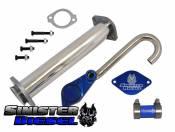 Sinister - EGR Valve/Cooler Delete Kit - 03-07 Ford 6.0L