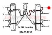 1982 - 1993 GM 6.2L 6.5L IDI - Fuel Injection Lines - 89-96 Chevy GMC 6.2L 6.5L - Dipaco - #2 Fuel Injection Line 6.2L 6.5L Mechanical