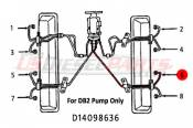 1982 - 1996 GM 6.2L 6.5L (Mechanical) - Fuel Injection Lines - 89-96 Chevy GMC 6.2L 6.5L - Dipaco - #6 Fuel Injection Line 6.2L 6.5L Mechanical