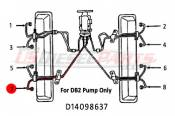 1982 - 1996 GM 6.2L 6.5L (Mechanical) - Fuel Injection Lines - 89-96 Chevy GMC 6.2L 6.5L - Dipaco - #7 Fuel Injection Line 6.2L 6.5L Mechanical