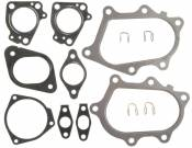 Turbochargers - GM Duramax LB7 - Turbocharger Accessories - GM Duramax LB7 - MAHLE - Turbocharger Mounting Gasket Set - 2001-2010 GM 6.6L Duramax