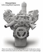 2003 - 2007 6.0L Ford Power Stroke - Reman Engines - 03-07 Ford 6.0L - Reviva - Long Block Supreme Engine - 2005-2006 Ford 6.0L Power Stroke F250 - F550 AT