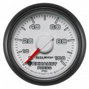 "Dodge - 2007 - 2018 6.7L Dodge Cummins - Auto Meter Gauges - 2-1/16"" Exhaust Pressure - 0-100 PSI - FSE -DODGE FACTORY MATCH"