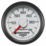 "Dodge - 2007 - 2018 6.7L Dodge Cummins - Auto Meter Gauges - 2-1/16"" Exhaust Pressure - 0-60 PSI - FSE -DODGE FACTORY MATCH"