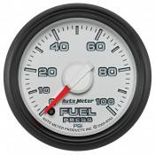 "Dodge - 2007 - 2018 6.7L Dodge Cummins - Auto Meter Gauges - 2-1/16"" FUEL PRESS - 0-100 PSI - FSE -DODGE FACTORY MATCH"