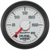 "Dodge - 2007 - 2018 6.7L Dodge Cummins - Auto Meter Gauges - 2-1/16"" FUEL PRESS - 0-30 PSI - FSE -DODGE FACTORY MATCH"