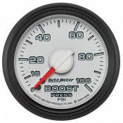 "Dodge - 2007 - 2018 6.7L Dodge Cummins - Auto Meter Gauges - 2-1/16"" BOOST - 0-100 PSI - MECH - DODGE FACTORY MATCH"