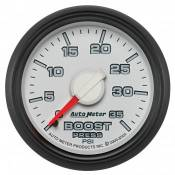 "Auto Meter - 03-07 Dodge 5.9L - Factory Match 3rd Gen - 03-07 Dodge 5.9L - Auto Meter Gauges - 2-1/16"" BOOST - 0-35 PSI - MECH - DODGE FACTORY MATCH"