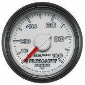 "Dodge - 2007 - 2018 6.7L Dodge Cummins - Auto Meter Gauges - 2-1/16"" Exhaust Pressure - 0-100 PSI - MECH - DODGE FACTORY MATCH"