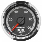 "Dodge - 2007 - 2018 6.7L Dodge Cummins - Auto Meter Gauges - 2-1/16"" Fuel Pressure - 0-100 - FSE - Dodge 4th Gen"