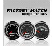 Gauges - Dodge 6.7L - Auto Meter - Dodge 6.7L - Factory Match - Dodge Gen 4