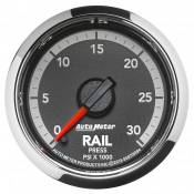 "Auto Meter Gauges - 2-1/16"" Rail Pressure - 0-30K - FSE - 6.7L Dodge 4th Gen"