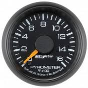 "Auto Meter Gauges - 2-1/16"" Pyrometer Kit - 0-1600 Deg - FSE - CHEVY / GMC"