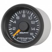 "Auto Meter Gauges - 2-1/16"" Pyrometer Kit - 0-1600 Deg - FSE - CHEVY / GMC - Image 2"