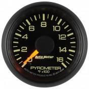 "Auto Meter Gauges - 2-1/16"" Pyrometer Kit - 0-1600 Deg - FSE - CHEVY / GMC - Image 4"