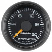 "Auto Meter - GM Duramax LB7 - Factory Match Chevy / GMC - Auto Meter Gauges - 2-1/16"" Pyrometer Kit - 0-2000 Deg - FSE - CHEVY / GMC"