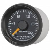 "Auto Meter Gauges - 2-1/16"" Pyrometer Kit - 0-2000 Deg - FSE - CHEVY / GMC - Image 2"