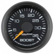 "Auto Meter - GM Duramax LML LGH - Factory Match Chevy / GMC - Auto Meter Gauges - 2-1/16"" Boost - 0-35 PSI - Mech - CHEVY / GMC"