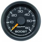 "Auto Meter - GM Duramax LML LGH - Factory Match Chevy / GMC - Auto Meter Gauges - 2-1/16"" Boost - 0-60 PSI - Mech - CHEVY / GMC"