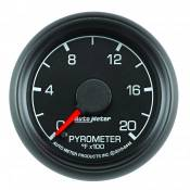 "Ford - 1998 - 2003 7.3L Ford Power Stroke - Auto Meter Gauges - 2-1/16"" Pyrometer Kit - 0-2000 Deg - FSE - FORD"