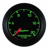 """Auto Meter Gauges - 2-1/16"""" Pyrometer Kit - 0-2000 Deg - FSE - FORD - Image 2"""