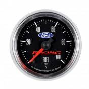 "Auto Meter Competition Instruments - Ford Racing - Auto Meter Gauges - 2-1/16"" Fuel Pressure - 0-100 PSI - FSE - FORD RACING"