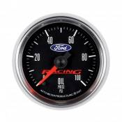 "Auto Meter Competition Instruments - Ford Racing - Auto Meter Gauges - 2-1/16"" Oil Pressure - 0-100 PSI - FSE - FORD RACING"