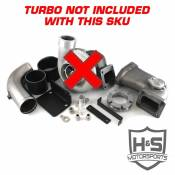 Turbochargers - 08-10 Ford 6.4L - High Performance Turbochargers - 08-10 Ford 6.4L - H&S Motorsports - H&S Motorsports - 08-10 Ford 6.4L Single Turbo Kit W/O Turbo