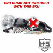 H&S Motorsports - H&S Motorsports - 11-15 Ford 6.7L Dual High Pressure Fuel Kit W/O CP3