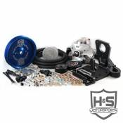 H&S Motorsports - H&S Motorsports - 11-14 GM 6.6L Dual High Pressure Fuel Kit W/O CP3