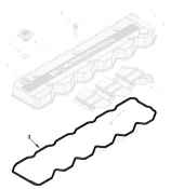 2003 - 2007 5.9L Dodge Cummins - Engine Components - 03-07 Dodge 5.9L Cummins - Interstate-McBee - Upper Rocker/Valve Cover Gasket - 03-04.5 Dodge 5.9L Cummins