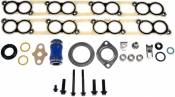 2003 - 2007 6.0L Ford Power Stroke - EGR Coolers and Cooler Delete Kits - Dorman - Dorman - EGR Cooler/Intake Gasket Kit - 2003-2010 Ford Diesel