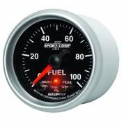 "Auto Meter Gauges - 2-1/16"" FUEL PRESS 0-100 PSI - FSE - PEAK/WARN - Image 2"
