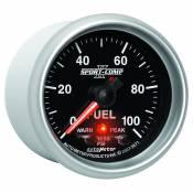 "Auto Meter Gauges - 2-1/16"" FUEL PRESS 0-100 PSI - FSE - PEAK/WARN - Image 5"