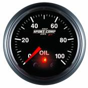 "Auto Meter Gauges - 2-1/16"" OIL PRESS 0-100 PSI - FSE - PEAK/WARN - Image 4"