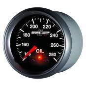 "Auto Meter Gauges - 2-1/16"" OIL TEMP - 140-280`F - FSE - PEAK/WARN - Image 2"