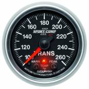 "Auto Meter Gauges - 98-03 Ford 7.3L - Sport Comp II - 98-03 Ford 7.3L - Auto Meter Gauges - 2-1/16"" TRANSMISSION TEMP - 100-260`F - FSE - PEAK/WARN"
