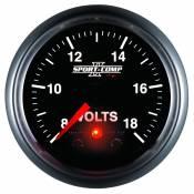 "Auto Meter Gauges - 2-1/16"" VOLTMETER 8-18V - FSE - PEAK/WARN - Image 4"